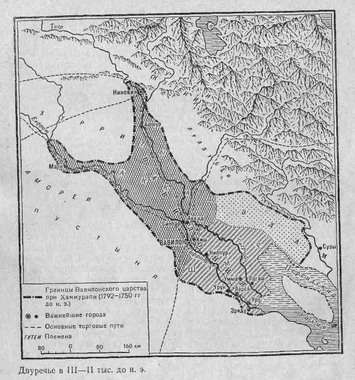 Двуречье в III-II тыс. до н. э.