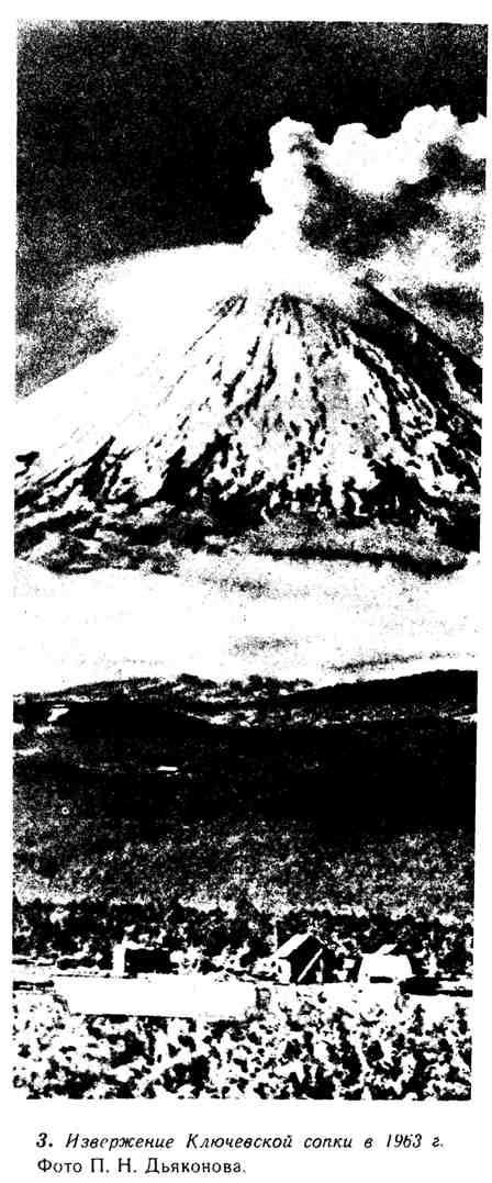 Извержение Ключевской сопки в 1963 г.