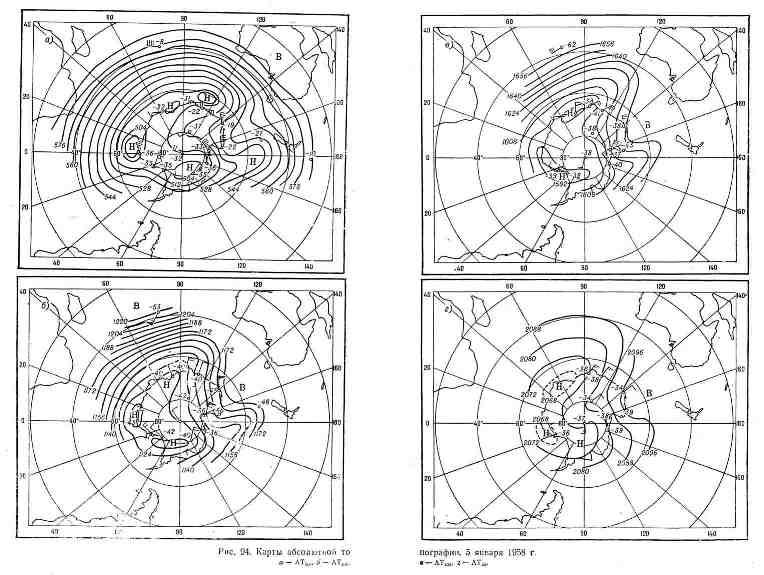 Карты абсолютной топографии