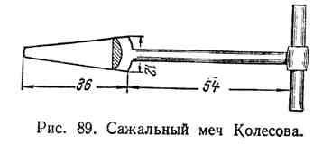 Сажальный меч Колесова