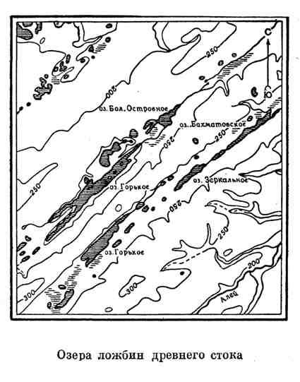 Озера ложбин древнего стока