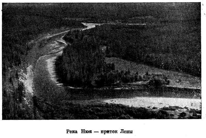 Река Нюя - приток Лены