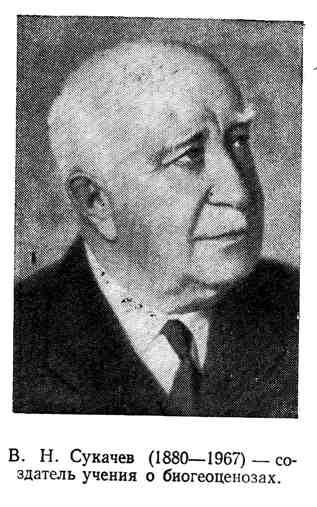 В. Н. Сукачев - создатель учения о биогеоценозах