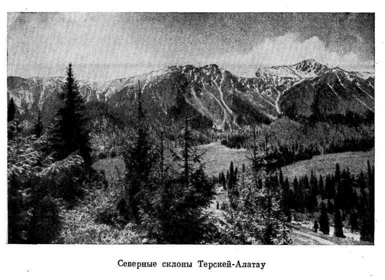 Северные склоны Терскей-Алатау