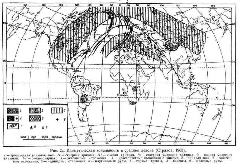 Климатическая зональность в средней полосе