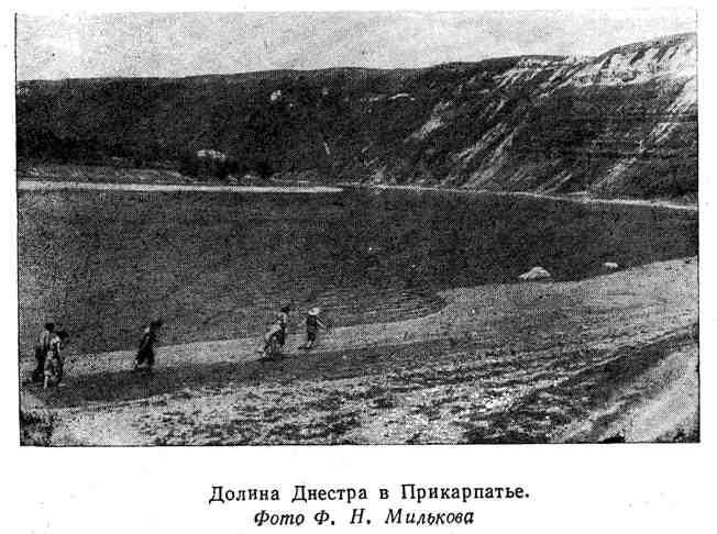 Долина Днестра в Прикарпатье
