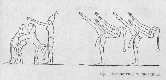 Древнеегипетские танцовщицы