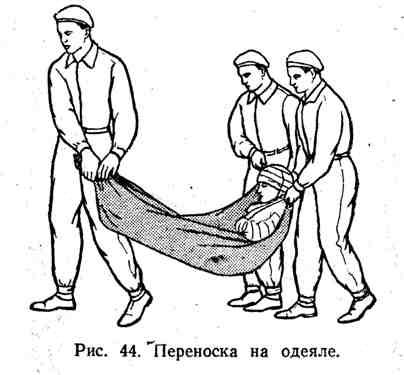 Переноска на одеяле