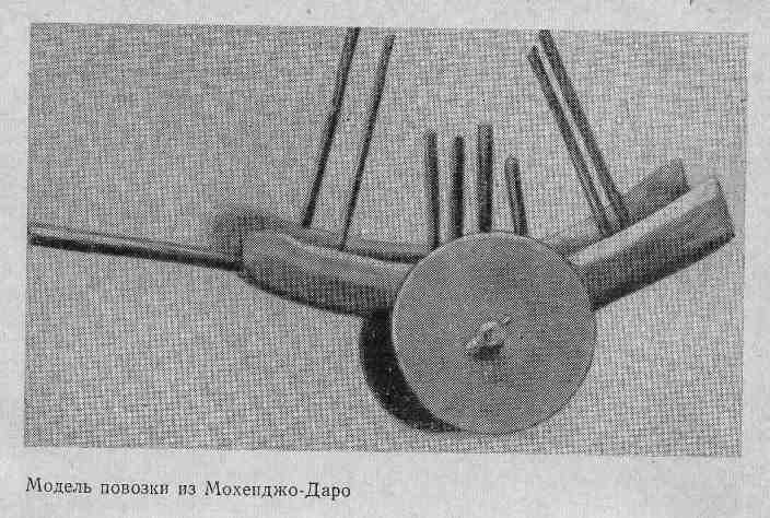 Модель повозки из Мохенджо-Даро