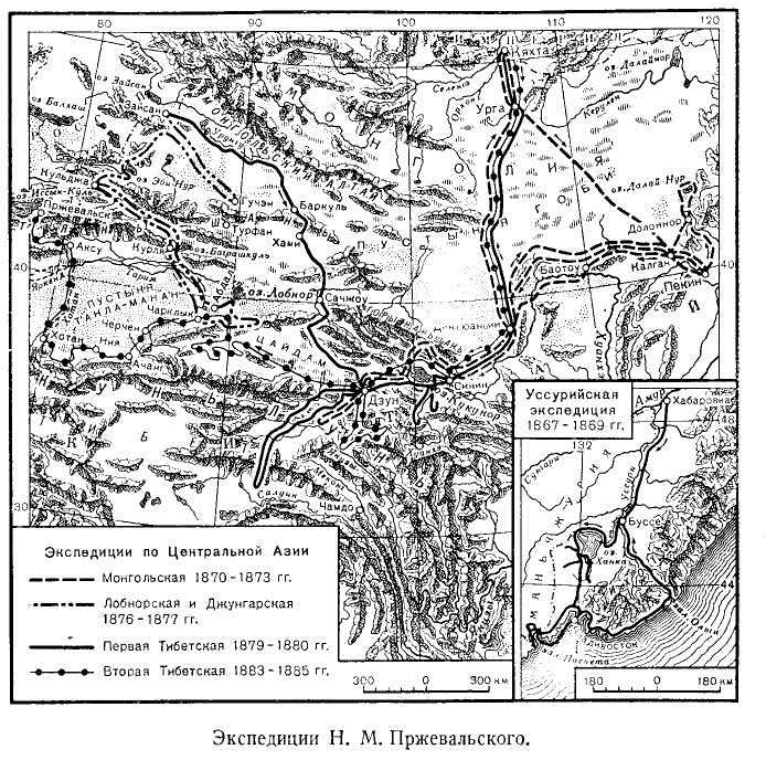 Экспедиции Н. М. Пржевальского