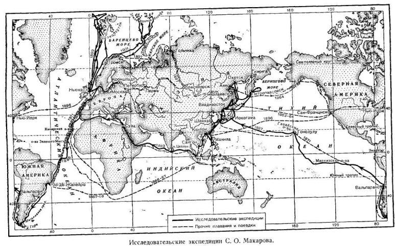 Исследовательские экспедиции С. О. Макарова